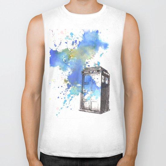 Doctor Who Tardis Biker Tank