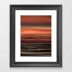 The Colors of the Sea 1 Framed Art Print