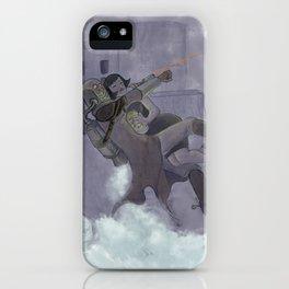 Night Heist iPhone Case