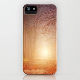 forest light #society6 #decor #buyart iPhone Case