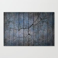 Cracked Wall Texture Canvas Print