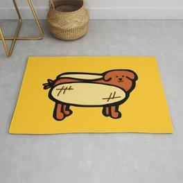 Hot Dawg Rug