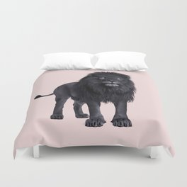 BLACK LION Duvet Cover