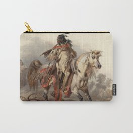 Blackfoot Indian Warrior Carry-All Pouch