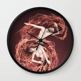 No Gravity Wall Clock
