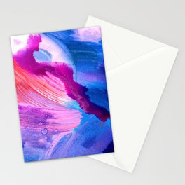 Danbury Abstract Watercolor Painting Stationery Cards