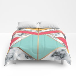 Geometry Gold 020 Comforters