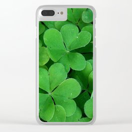 Luck of the Irish Clear iPhone Case