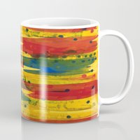 camo Mugs featuring Camo by Dariush Nejad
