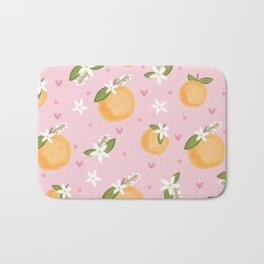 Orange Blossoms Bath Mat