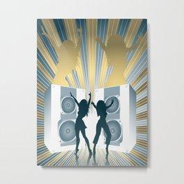 Loud Speakers Metal Print