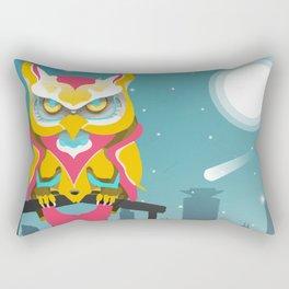 Nairobian Owl Rectangular Pillow