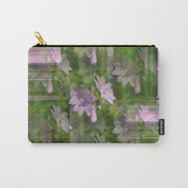 Lavender Floral Abstract Carry-All Pouch