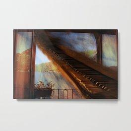 The Grand Piano Metal Print