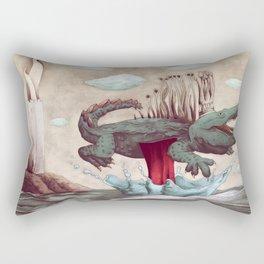 King croco Rectangular Pillow