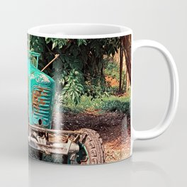 Old traditional Lindner tractor | conceptual photography Coffee Mug