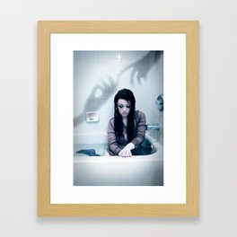 The Pain of Being Apart Framed Art Print