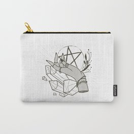 Witchy things - white Carry-All Pouch