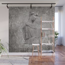 ANCIENT / Figure of Athena Wall Mural