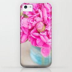 PINK PEONIES Slim Case iPhone 5c