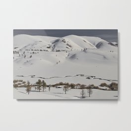 Mammoth Winter Wonderland Metal Print