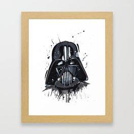 vader Framed Art Print
