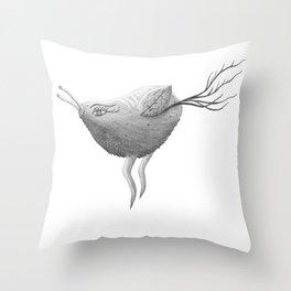 PeaRNut Throw Pillow