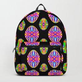 Bright Easter Egg Pattern Eastern Europe Design Style Backpack
