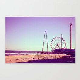 Seaside Heights Pier Canvas Print