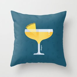 Happy Hour Daiquiri Throw Pillow