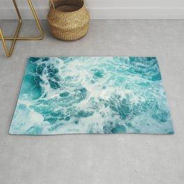 Ocean Sea Waves Rug