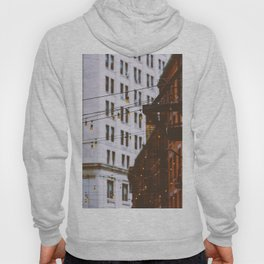 New York City Buildings and Lights (Color) Hoody