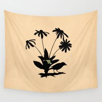 maryland Wall Tapestries featuring Maryland - State Papercut Print by Bean Cutter
