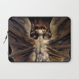 The Great Red Dragon and the Woman Clothed in Sun William Blake Laptop Sleeve