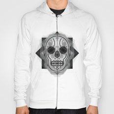 White skull Hoody