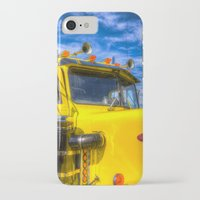 truck iPhone & iPod Cases featuring Peterbilt Truck by David Pyatt