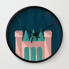 Princess Castle | Disney inspired Wall Clock
