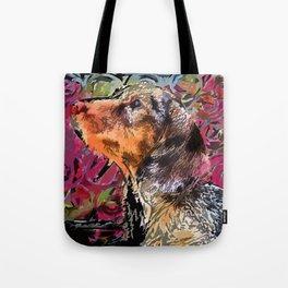 """Cucciolo di Graffito"" ~ Dachshund, Weiner Dog, Doxie, everywhere! Tote Bag"