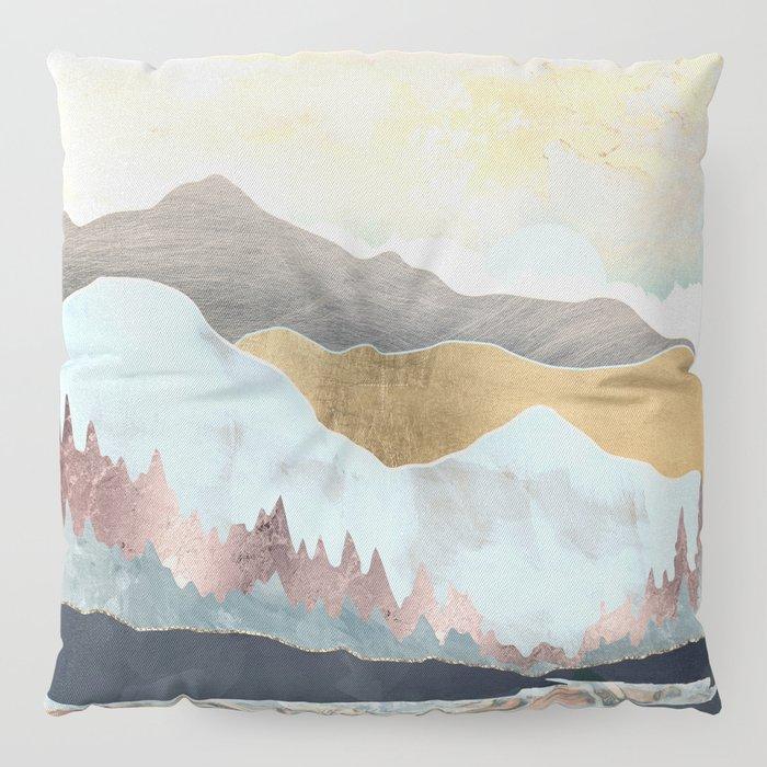 Winter Light Floor Pillow