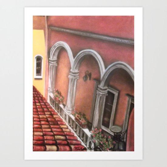 Three Arches Art Print