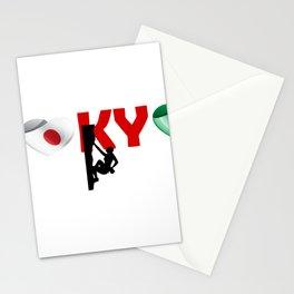 Climbing sport - Ireland team in Tokyo Stationery Cards