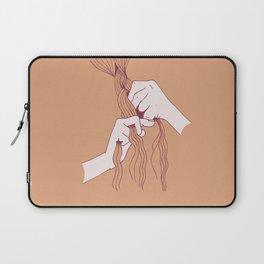 Braiding peach Laptop Sleeve