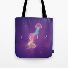 C A L M Tote Bag