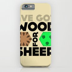 Wood for Sheep (Catan series) iPhone 6s Slim Case