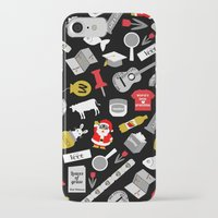 paper towns iPhone & iPod Cases featuring Paper Towns Print by Yasmin Rahman