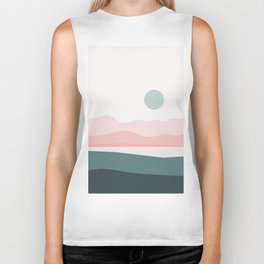 Abstract Landscape 03 Biker Tank