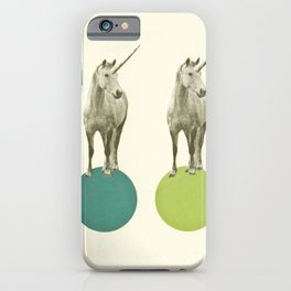 Unicorn Parade iPhone Case