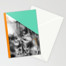 Green and Orange Stationery Cards