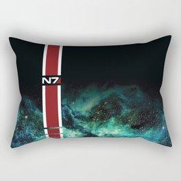 Galaxy Armor Stripe Rectangular Pillow