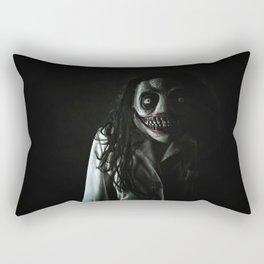 That Secret Face Rectangular Pillow